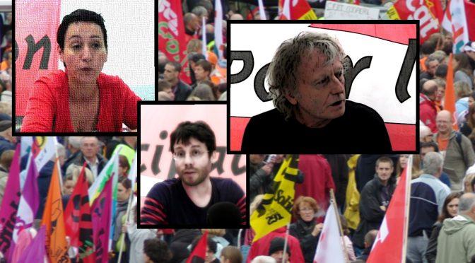 Enregistrements du débat :  <i>de l'action syndicale à l'émancipation ?</i>